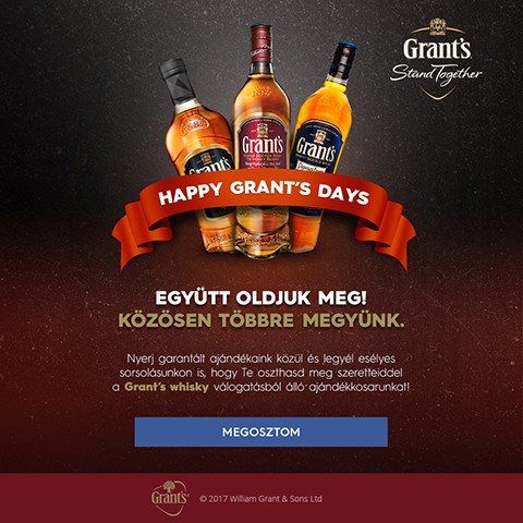 Pentacom referencia - Grant's Whisky, Marketing