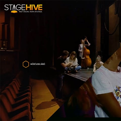 Pentacom referencia - StageHive, Webfejlesztés, alkalmazásfejlesztés