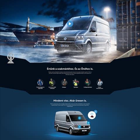 Pentacom referencia - Volkswagen webfejlesztés