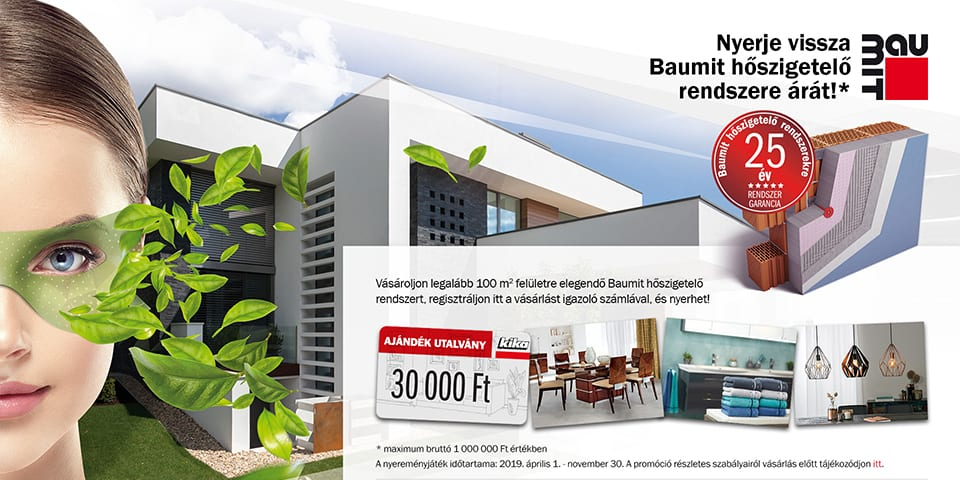 Pentacom referencia - Nemzetközi Baumit csoport, Webfejlesztés, Online marketing